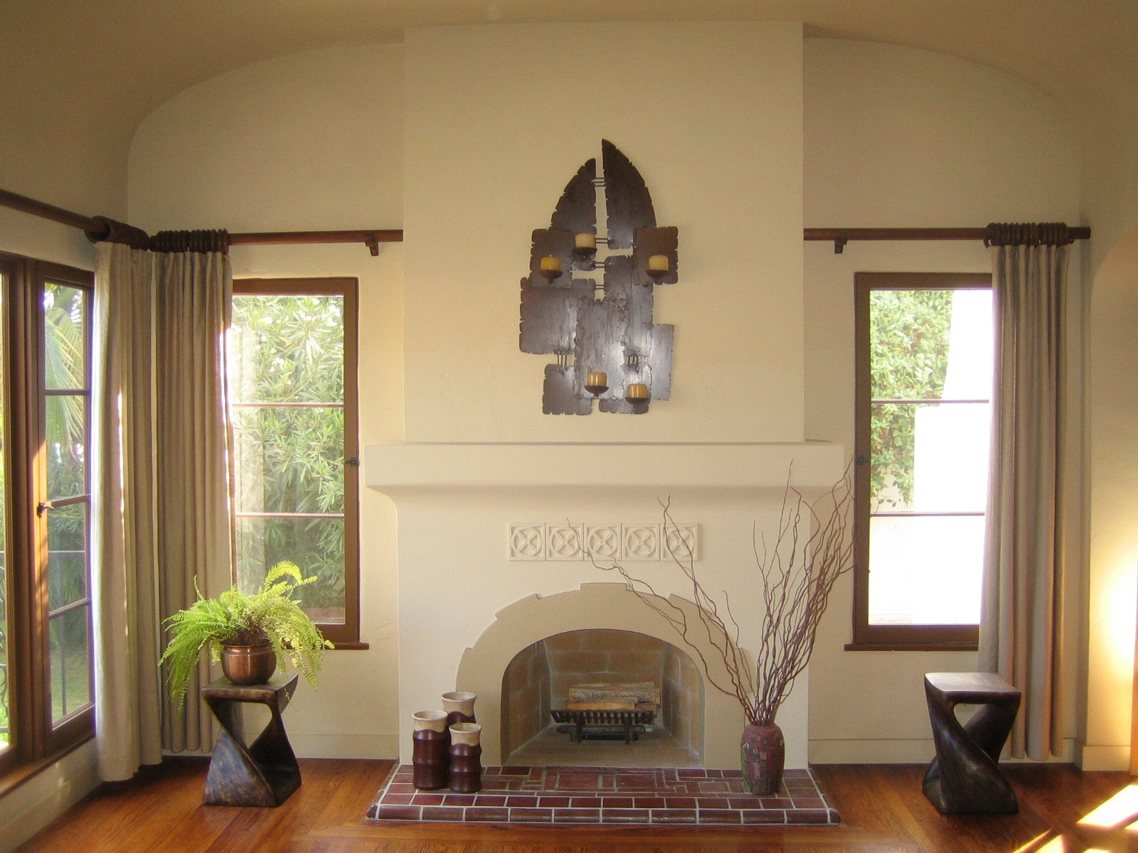 Stucco And Plaster Fireplace Photos In San Diego Custom Masonry And Firepla