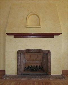 Batchelder Tile & Craftsman Style Fireplaces