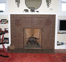 Batchelder Tile Fireplaces