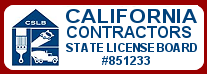 Paul Walker California Licensed Contractor. Click here to view CSLB license.