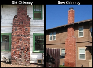New Chimney Construction and Repair