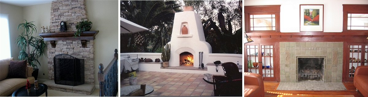 San Diego Fireplace Photos