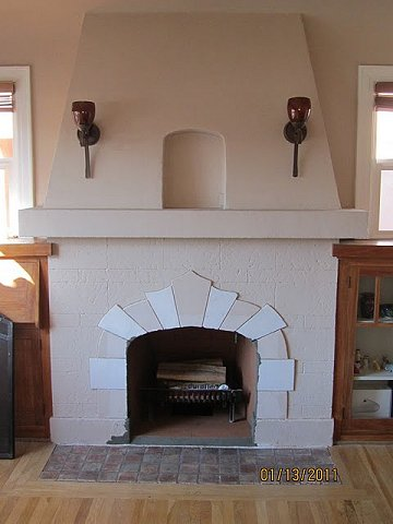 Stucco And Plaster Fireplace Photos In San Diego Custom