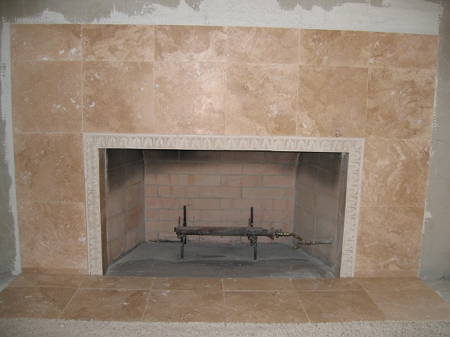 San Diego Tile Fireplace Photos Custom Masonry And Fireplace