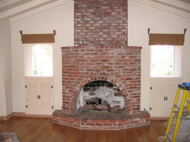 San Diego Brick Fireplaces Custom Masonry And Fireplace